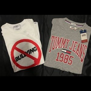 NWT Lot SIZE L TOMMY JEANS and KID DANGEROUS